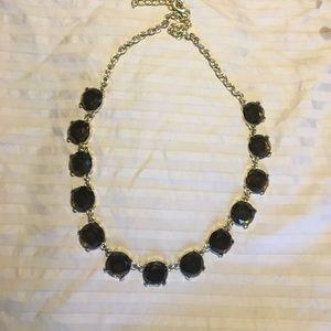 Black Jeweled Necklace